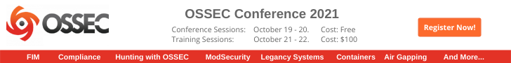 OSSEC Conference 2021